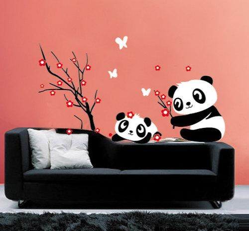 Panda Wall Decor Wish List Pinterest