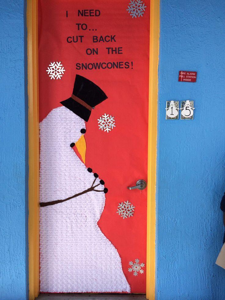 19 Winter Wonderland Classroom Door Decorations