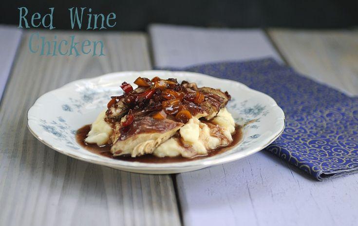 Chicken with Red Wine Sauce | Main Dishes: Chicken, Turkey & Duck | P ...