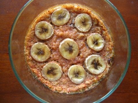 Banana-Bread-Oatmeal with brûlée top | Boats Of Oats | Pinterest