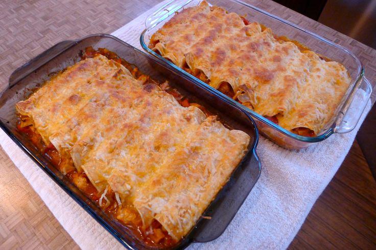 Smoky Chipotle Chicken Enchiladas | Recipes | Pinterest