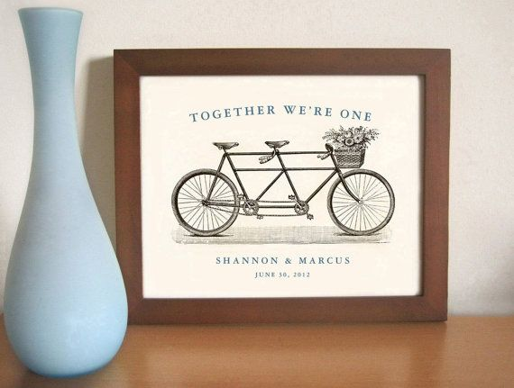 Personalized Engagement Gift - Personalized Wedding Gift - Art for Co ...
