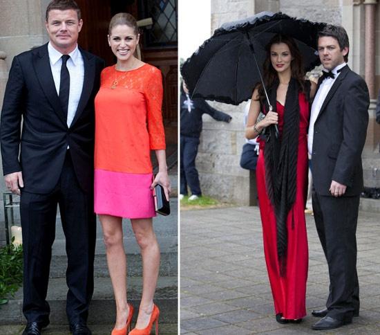 Lindo esse vestido vermelho!!! | Aoife Cogan & Gordon D'Arcy – Enfim Noiva | Blog de Casamento