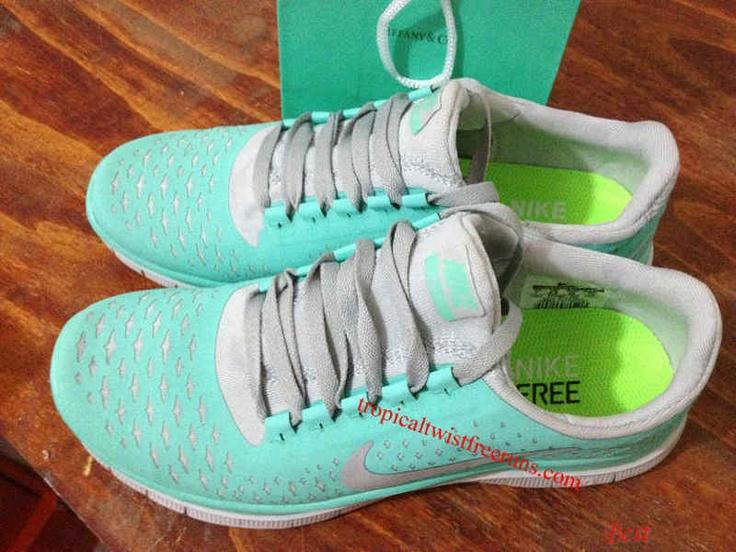 Tiffany Blue Nike Running Shoes For Women Nike free 3.0 v4 tiffany