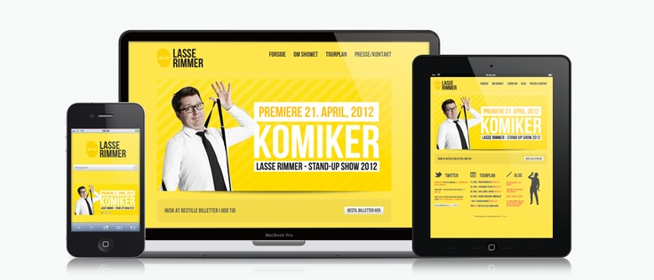 nice responsive wordpress website  www.lasserimmer.dk