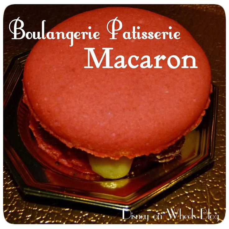 Disney Food Friday - Boulangerie Patisserie les Halles Macaron