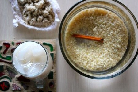 Brown Rice Horchata Recipe on Whisked Foodie blog