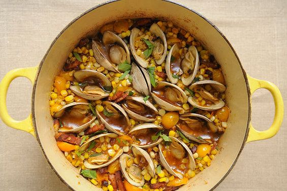 Corn, Bacon, and Clam Stew recipe - So easy and so delicious. An ...