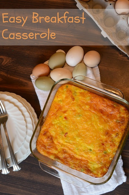 Easy Egg and Potato Breakfast Casserole. mothers day brunch