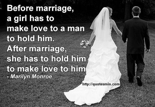 Love Quotes For Him Marilyn Monroe : ... him to make love to him - Marilyn Monroe. For more Quotes http