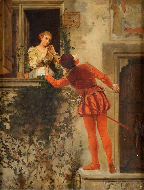 """Heinrich von Angeli - """"Romeo and Juliet"""""""