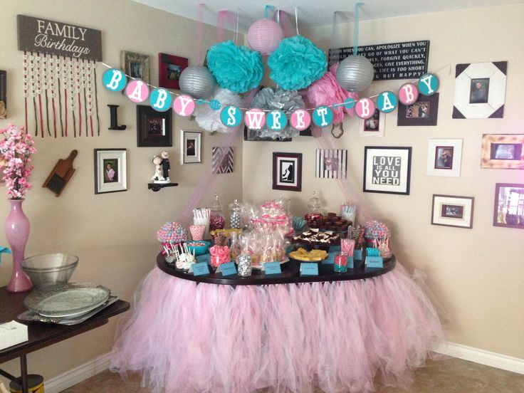 dessert table set up brooklyn marie 39 s baby shower pinterest