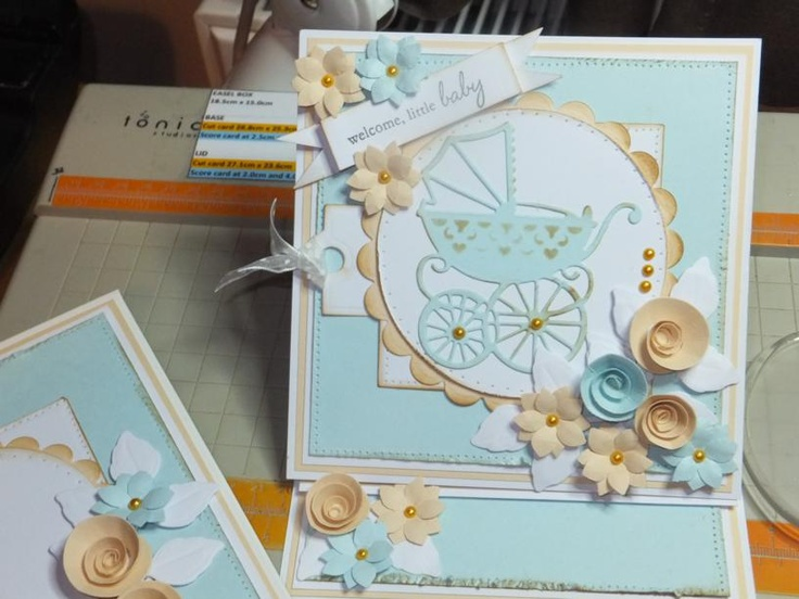 Ref:B10) Marianne, Memory Box dies and a flower punch used to create
