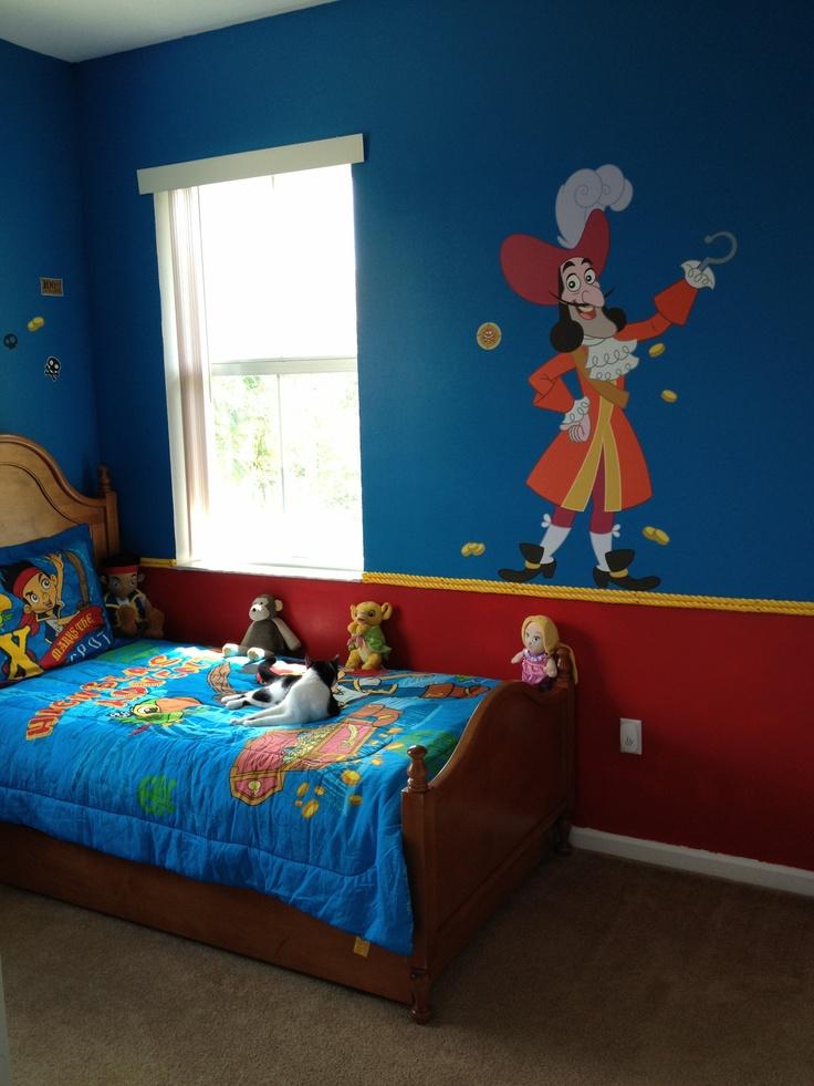 Jake And The Neverland Pirate Bedroom Ju Ju Pinterest