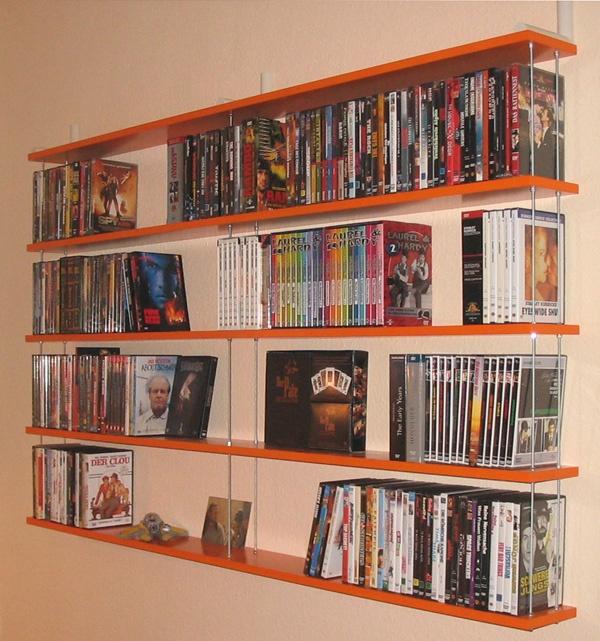 dvd regal orange 7 home pinterest. Black Bedroom Furniture Sets. Home Design Ideas