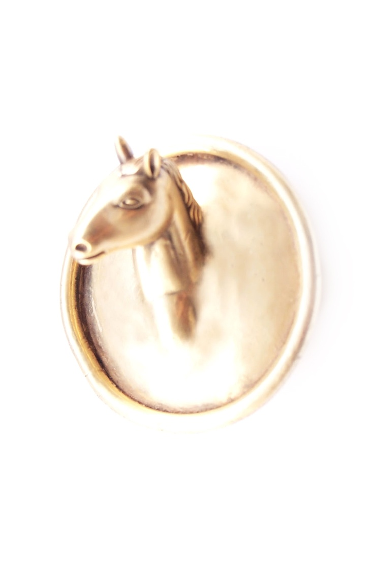 PONY BROOCH | THE VINTAGE TREND | Pinterest