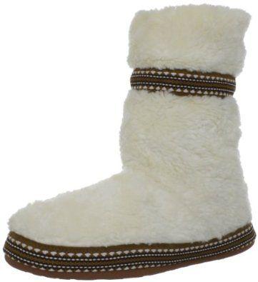Woolrich Women s Whitecap Bootie Slipper,Creampuff,8 M US Woolrich
