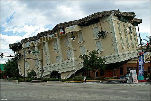 Upside Down Building Orlando Fl Are You Kidding Me
