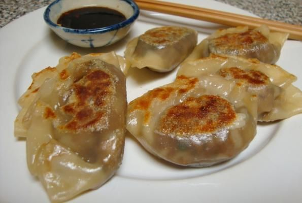 Vegan Gyoza | VegWeb.com, The World's Largest Collection of Vegetarian ...