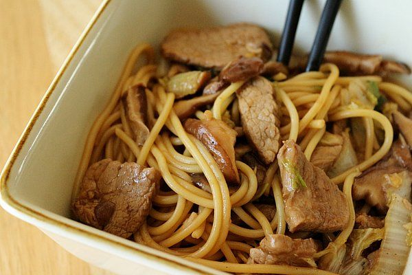 Mission: Food: Pork Lo Mein | Tasty recipes to try | Pinterest