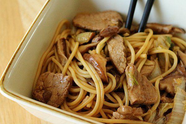 ... cantonese pork lo mein recipe dishmaps cantonese pork lo mein recipe