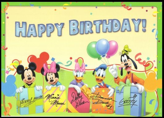 Disney Happy Birthday Mickey Mouse Jpg 530x382 Lori Images