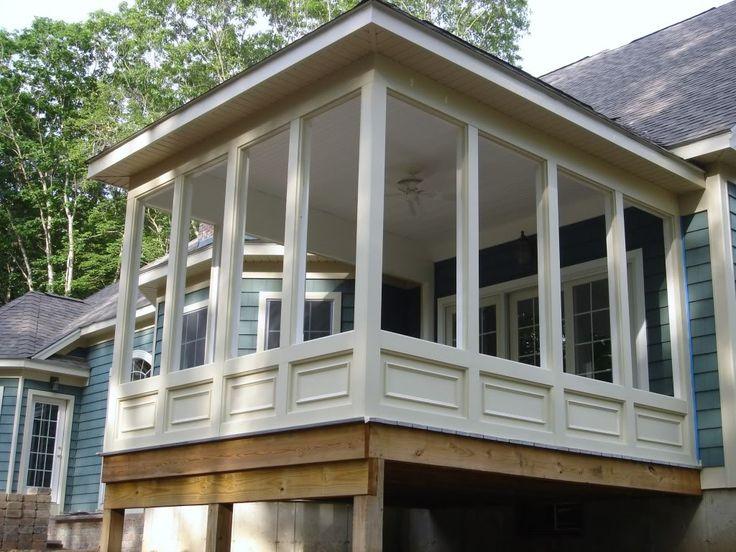 screened porch home sweet home pinterest. Black Bedroom Furniture Sets. Home Design Ideas