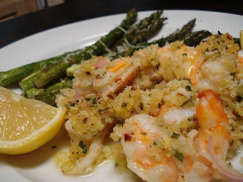 baked shrimp scampi by i love carbs, via Flickr