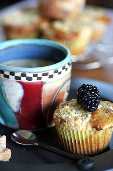 Blackberry, Lemon, and Thyme Muffins | Start With A Good Breakfast ...