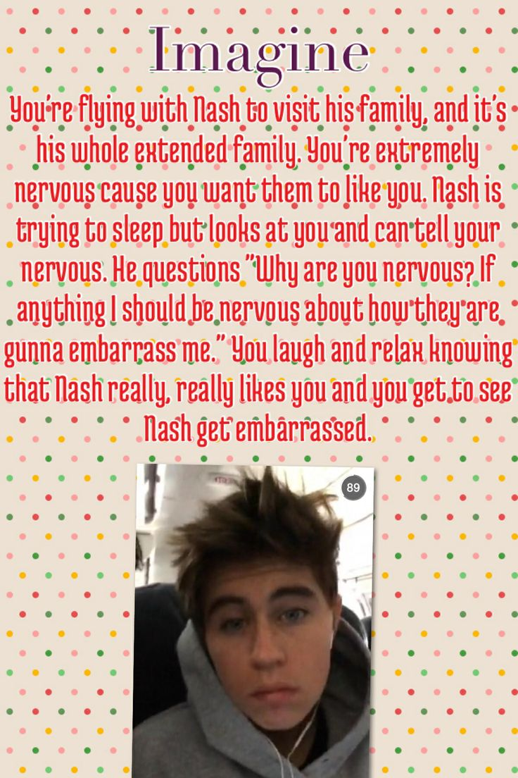 imagine you and nash grier dating