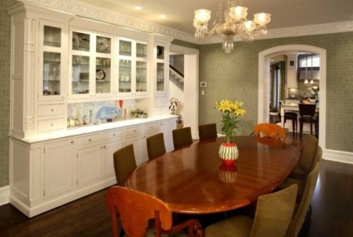 built in cabinets in dining room for the home pinterest
