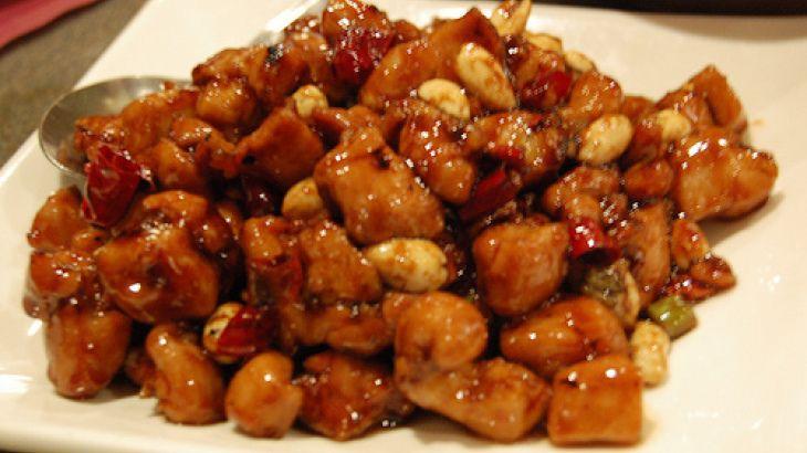 Spicy Szechwan Chicken With Spaghetti Squash Recipe