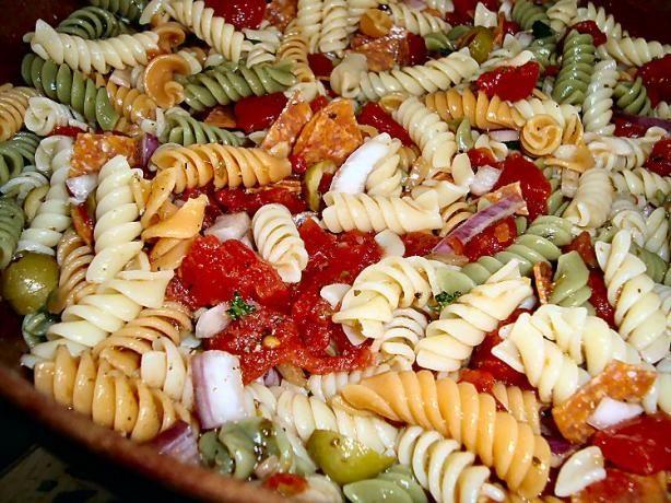 Mediterranean Pasta Recipes | Mediterranean Pasta Salad. Photo by ...