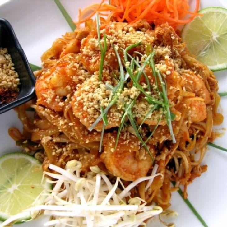 Shrimp Pad Thai Recipe Sooooo Goood!! Defiantly double the sauce even ...