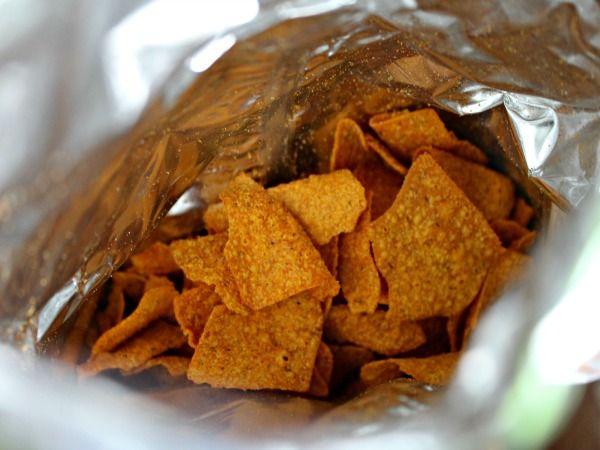 BBQ Sweet Potato Chips. Vegetable chips for snacking anytime.