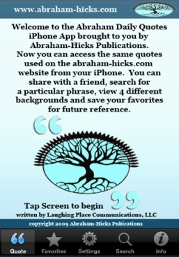 Abraham-Hicks daily quotes