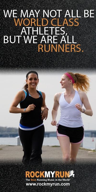 If you #run, consider yourself an official #runner.  www.rockmyrun.com #inspiration