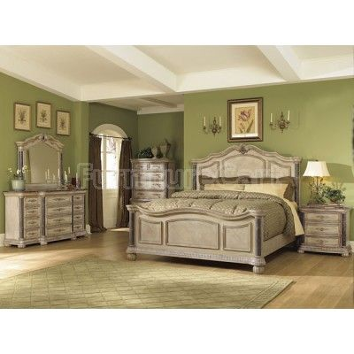 catalina panel bedroom set white i would change the wall color for