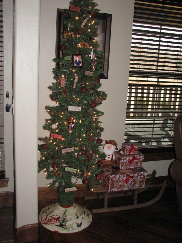 country christmas tree holiday christmas pinterest