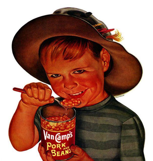 Van Camp's ad - Pork and Beans