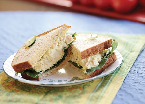 Curry Chicken Salad $8.75 at Tea Bar & Bites, 621 S. Pickwick Ave ...