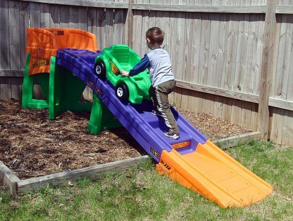 Vintage Backyard Roller Coaster : backyards