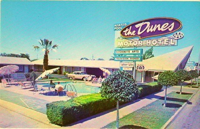 The Dunes Motor Hotel Viva Las Vegas Pinterest