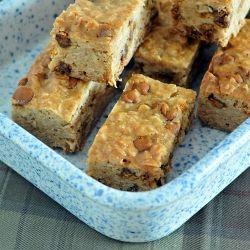Maple Cinnamon Oatmeal Bars | bars and cookies | Pinterest