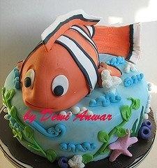 Nemo Cake. Adorable.