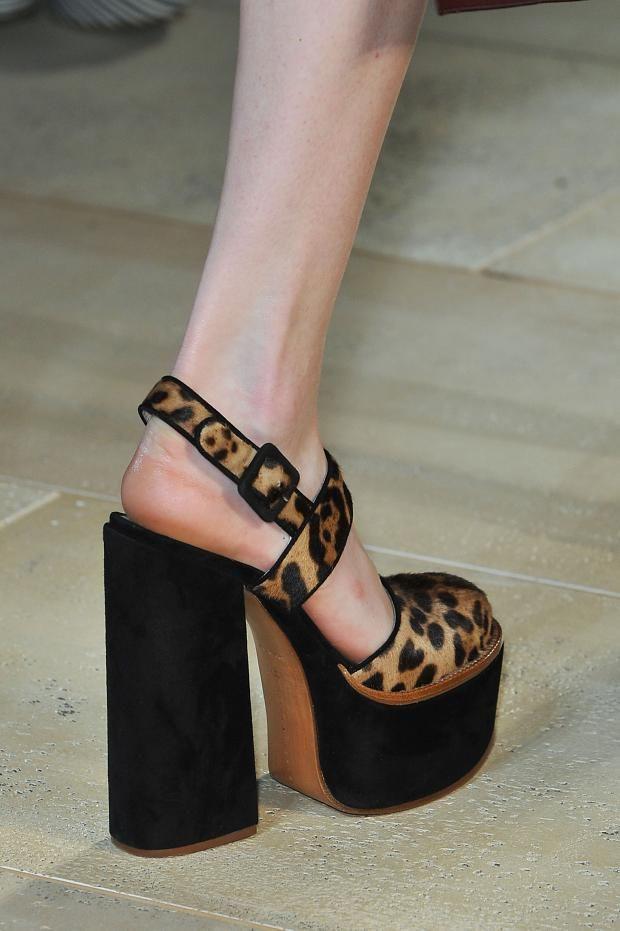 shoes @ Victoria Beckham Spring 2015