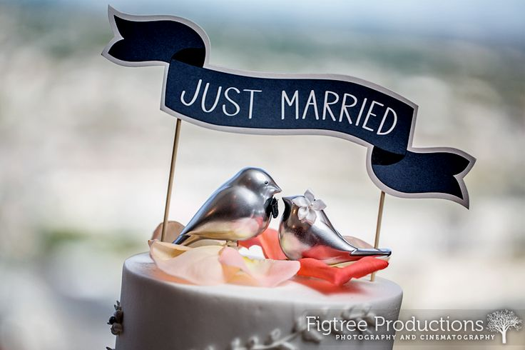 love doves a great cake topper Figtree First Look: Katherine & Italo | The Newark Club walking on sunshine:-)