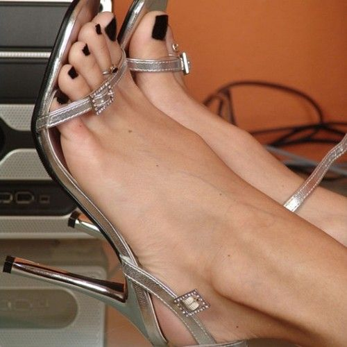 Feet and heels fetish