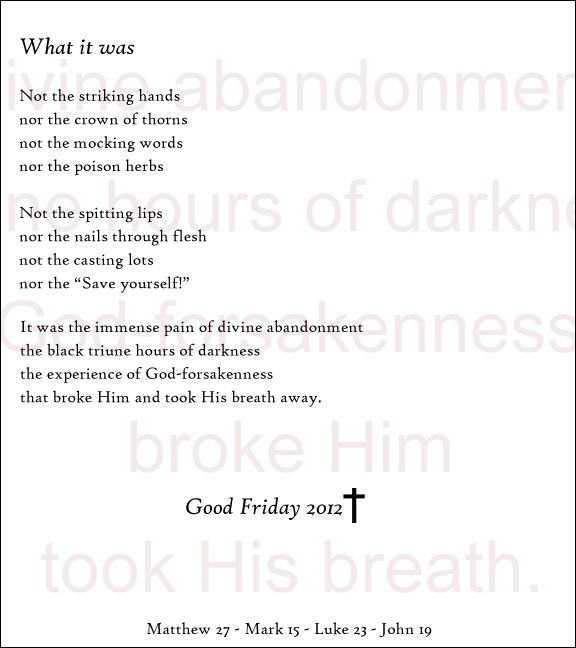 good friday by edwin morgan View and download powerpoint presentations on good friday ppt find powerpoint presentations and slides using the power of xpowerpointcom edwin morgan.