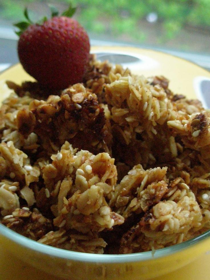 the best granola / butter & sugar | Granola | Pinterest